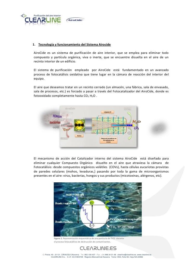 Aplicación de airocide en instalaciones deportivas Slide 2