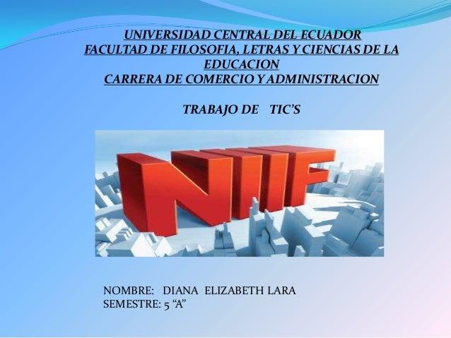UNIVERSIDAD CENTRAL DEL ECUADORFACULTAD DE FILOSOFIA, LETRAS Y CIENCIAS DE LAEDUCACIONCARRERA DE COMERCIO Y ADMINISTRACION...