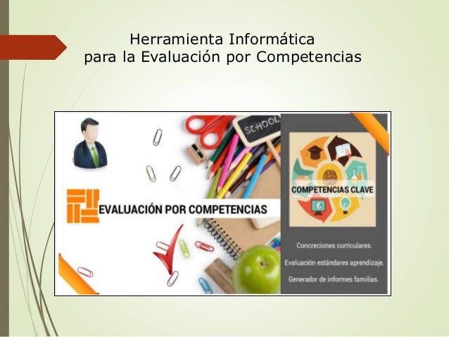 Herramienta Informática  para la Evaluación por Competencias