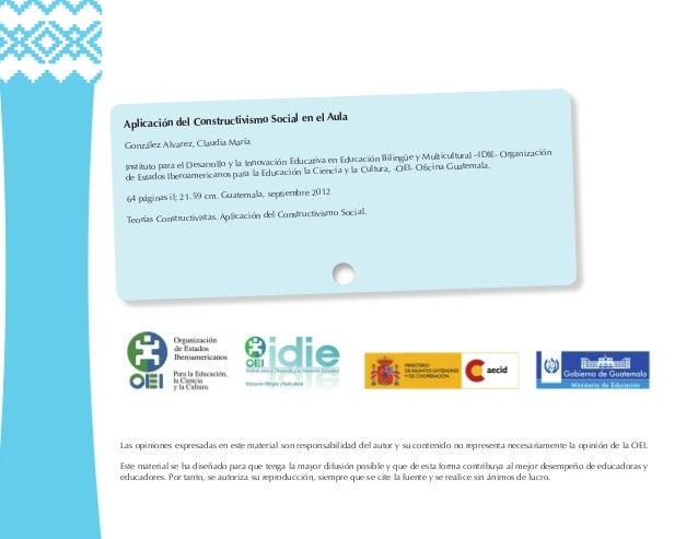 Aplicacion del constructivismo social en el aula 1 Slide 2