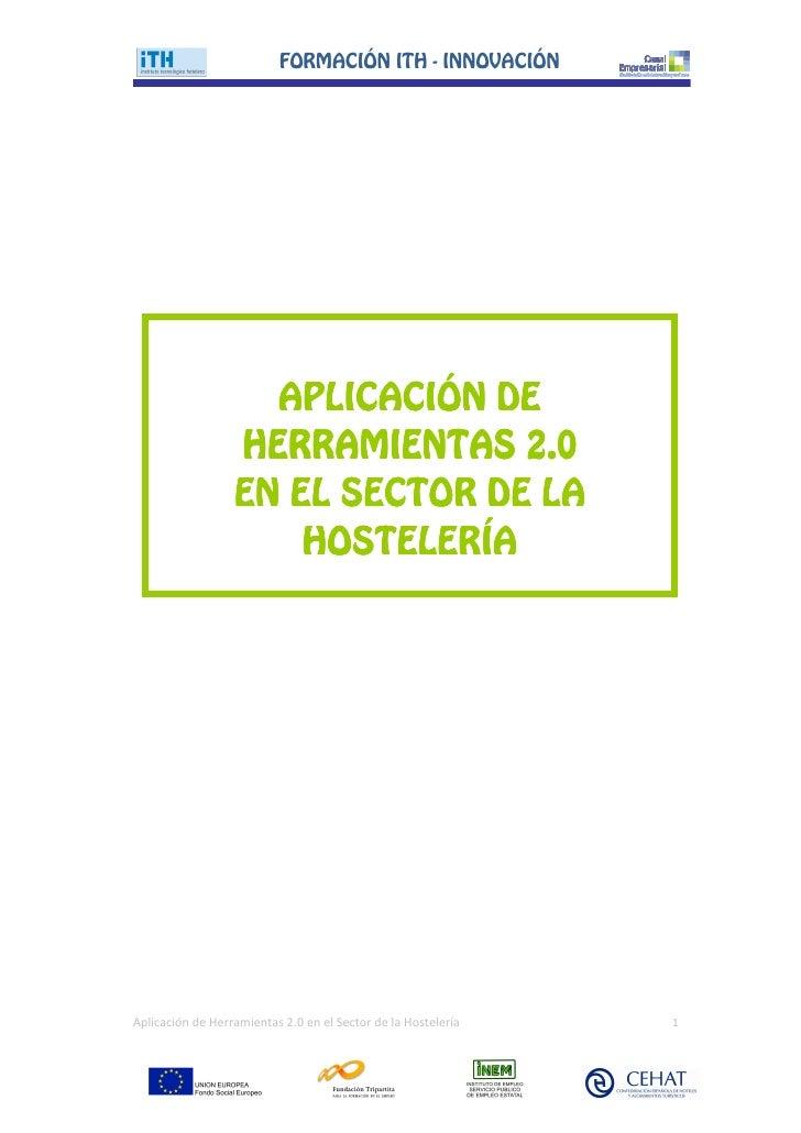FORMACIŁN ITH - INNOVACIŁN                         APLICACIŁN DE                   HERRAMIENTAS 2.0                   EN E...