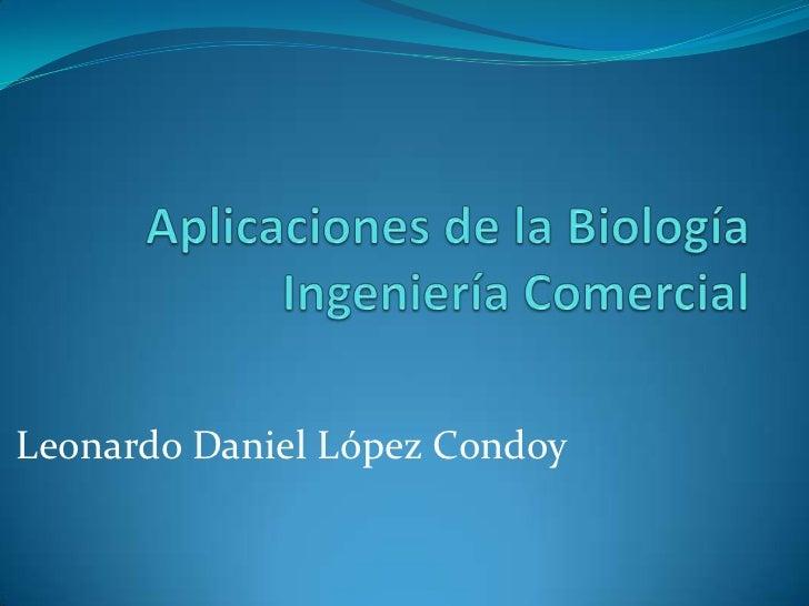 Leonardo Daniel López Condoy
