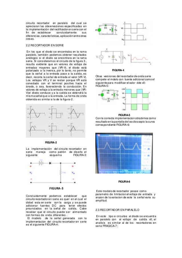 Circuito Recortador : Aplicaciones de los diodos recortadores