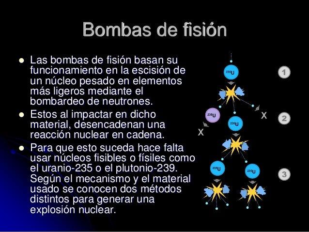 Resultado de imagen de armas nucleares con materiales distintos al plutonio o uranio