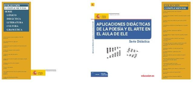 COLECCIÓN COMPLEMENTOS  COLECCIÓN COMPLEMENTOS SERIE LÉXICO DIDÁCTICA LITERATURA CULTURA GRAMÁTICA  Textos narrativos para...