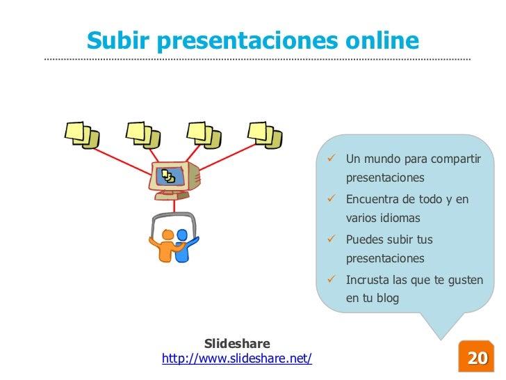 Subir presentaciones online                                        Un mundo para compartir                               ...