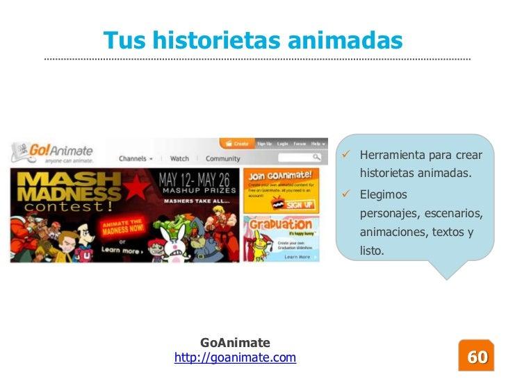 Tus historietas animadas                                 Herramienta para crear                                historieta...