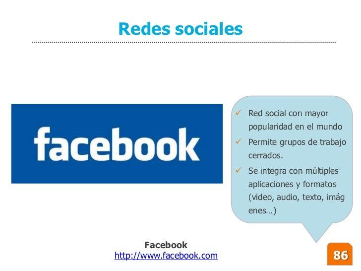 Redes sociales                               Red social con mayor                              popularidad en el mundo   ...