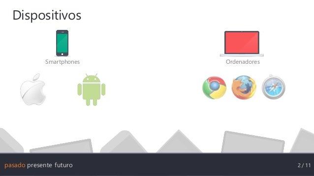 Pasado, presente y Futuro de las aplicaciones en HTML5 Slide 3