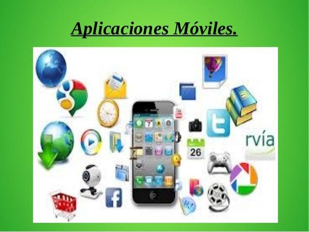 Aplicaciones Móviles.
