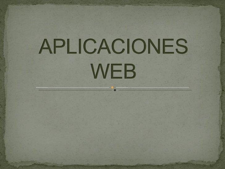  En                    la ingeniería de software se denomina aplicación           web a       aquellas aplicaciones que l...