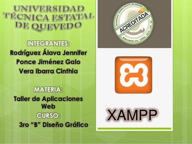 INTEGRANTES: Rodríguez Álava Jennifer Ponce Jiménez Galo Vera Ibarra Cinthia MATERIA: Taller de Aplicaciones Web CURSO: 3r...