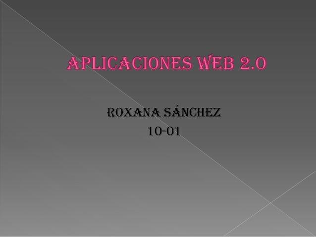 Roxana Sánchez 10-01