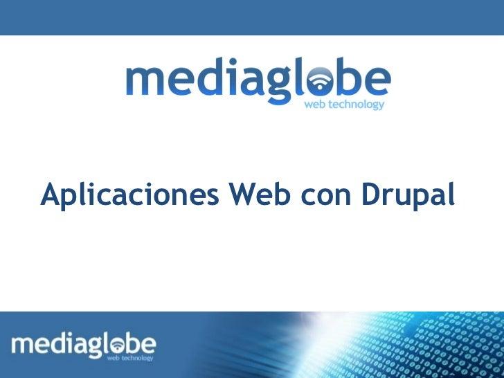 Aplicaciones Web con Drupal