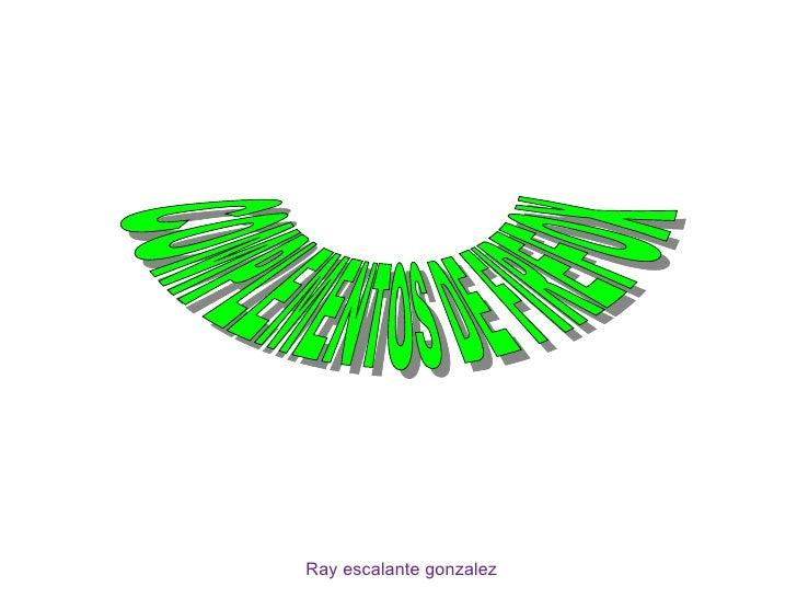 Ray escalante gonzalez COMPLEMENTOS DE FIREFOX