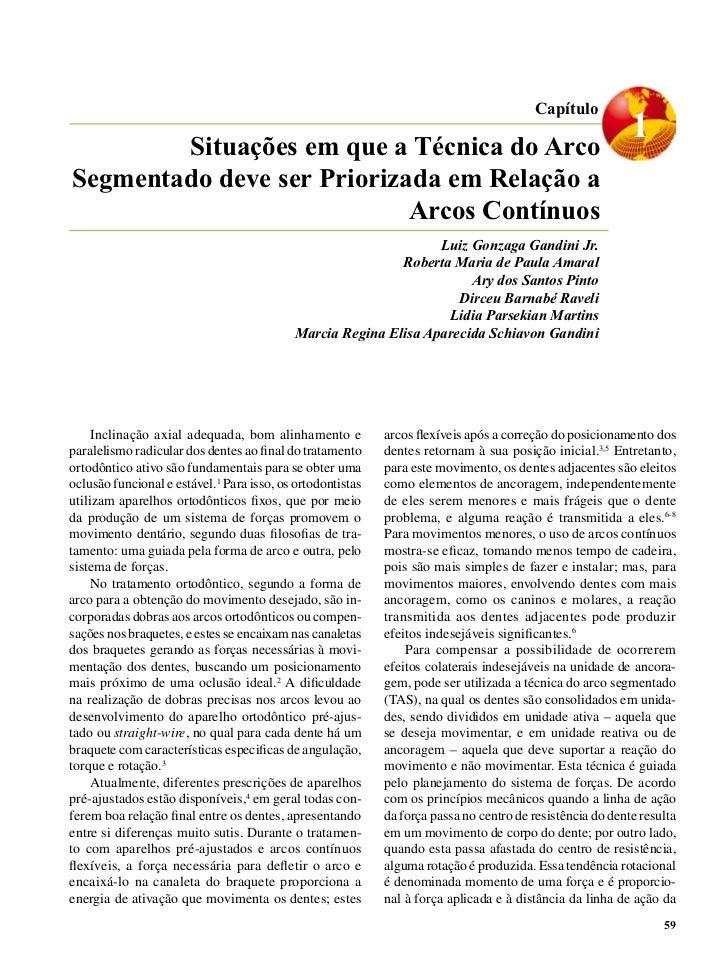 Capítulo        Situações em que a Técnica do Arco                                                                        ...