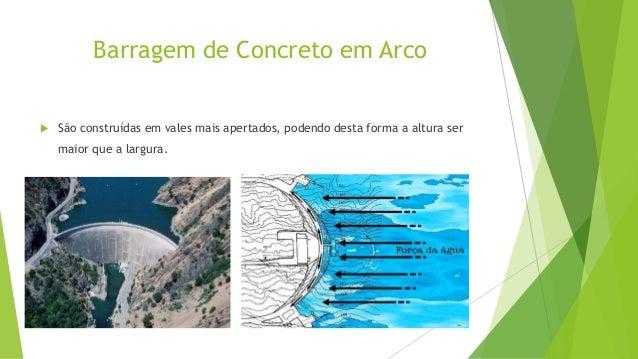 BARRAGEM EM CONTRAFORTES  Também é uma barragem de concreto e possui estrutura semelhante à  barragem de gravidade, porém ...