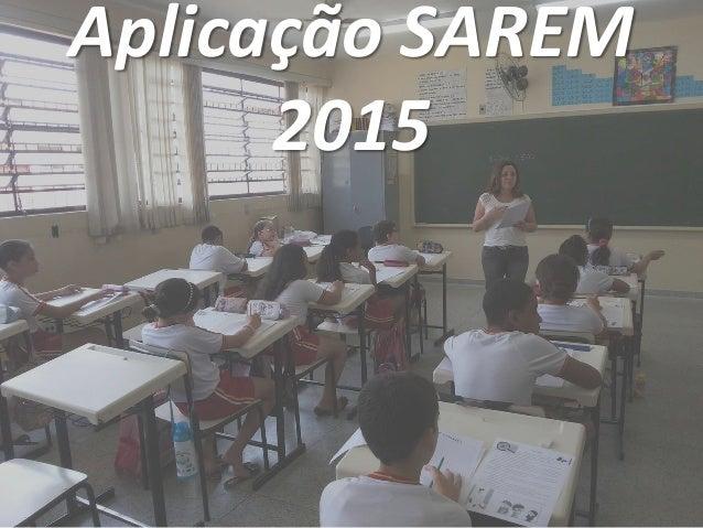 Aplicação SAREM 2015