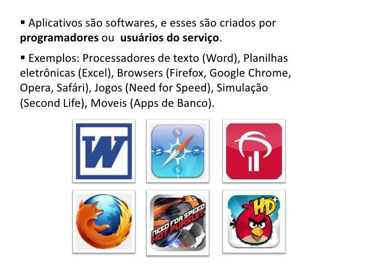 Aplicativos Slide 3