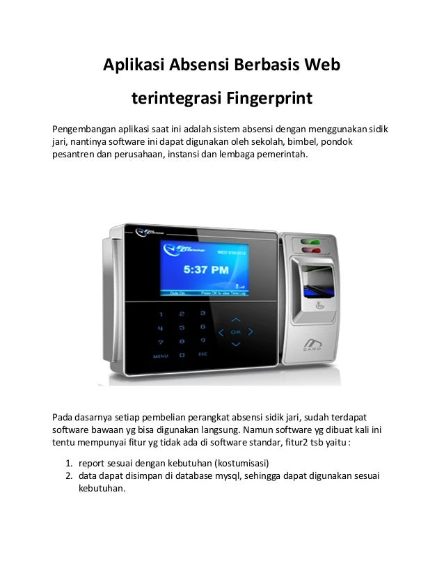 student monitoring using fingerprint with sms Of fingerprint record in database an sms also sent to registered mobile if the  person is find absent keywords – biometrics, fingerprint, attendance  wireless  1.