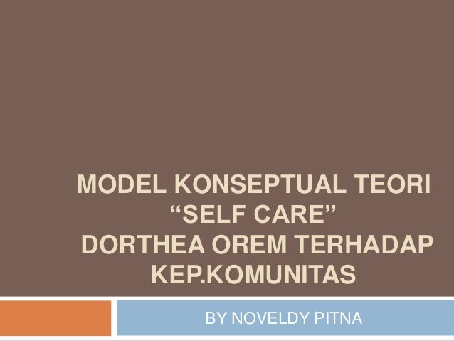 limitations of dorthea orems self care theory