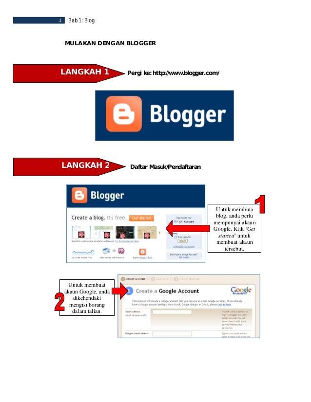 Bab 1: Blog   5Untuk pengesahan akaun, anda perlu memilih sama adauntuk mendapatkan  kod pengesahanmelalui mesej teks   at...