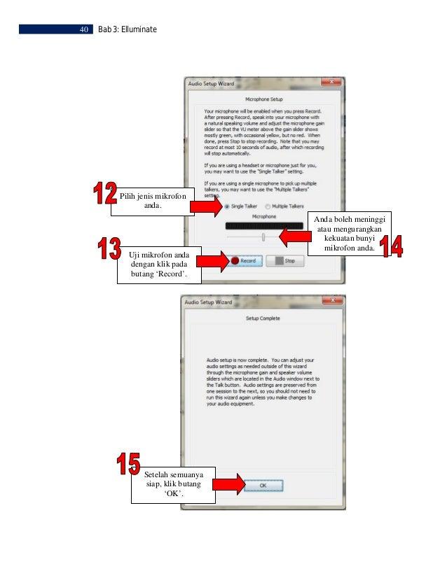 Bab 3: Elluminate   41      LANGKAH 6     Memuat Naik Persembahan  Untuk memuatnaik persembahan,   klik ikon ini.         ...