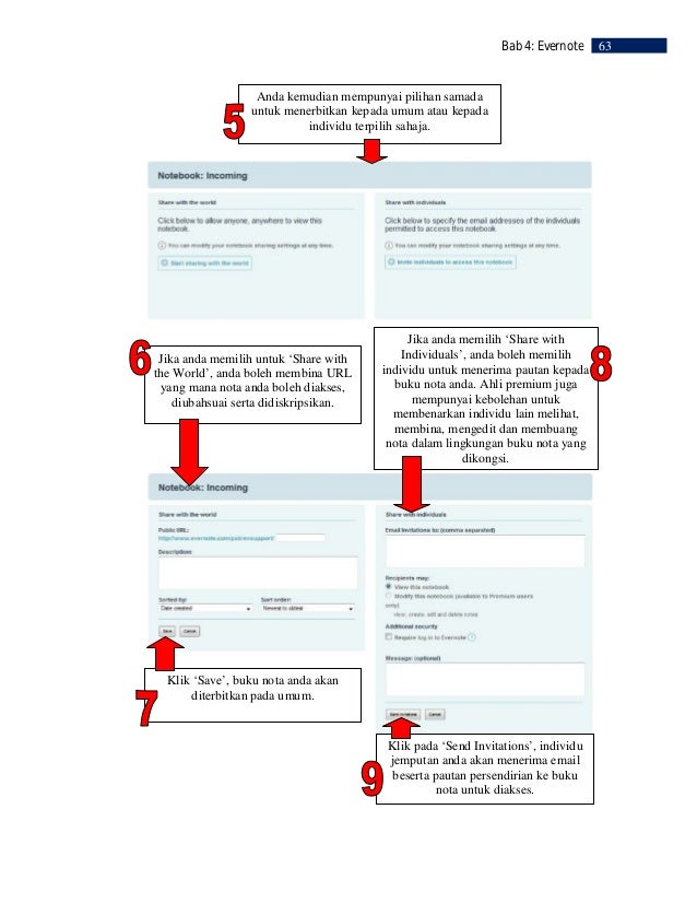 64    Bab 4: Evernote     RUJUKAN     Benjamin Michael Spivey. 2008. Unique Ways of Using this Application!.          http...