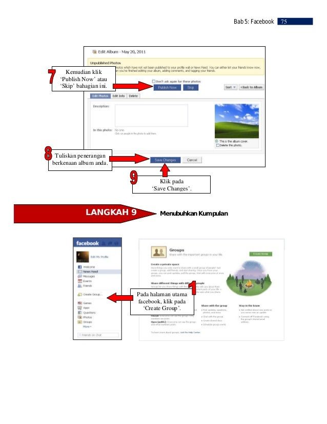 76   Bab 5: Facebook                                                             Masukkan nama                            ...