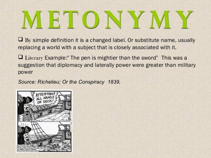 Metonymy Exle 28 Images Notes On Metaphor And Metonymy Metonymy