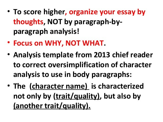 essay pointers