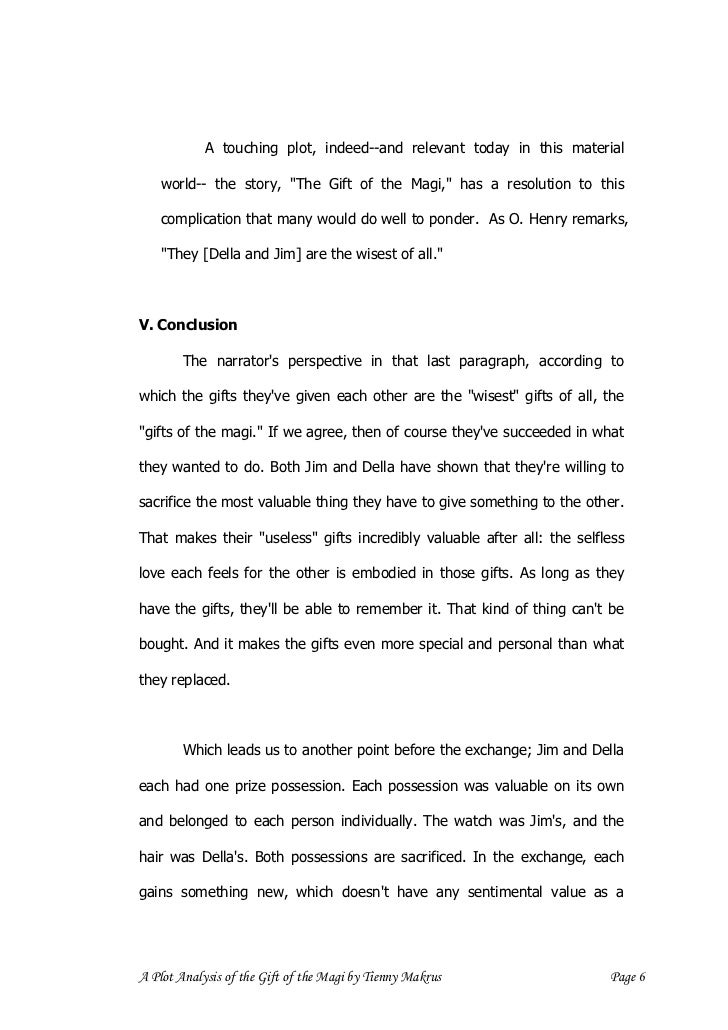 a plot analysis of the gift of the magi a plot analysis of the gift of the magi by tienny makrus page 5 8