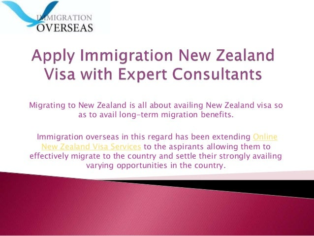 Migrating to New Zealand is all about availing New Zealand visa so as to avail long-term migration benefits. Immigration o...