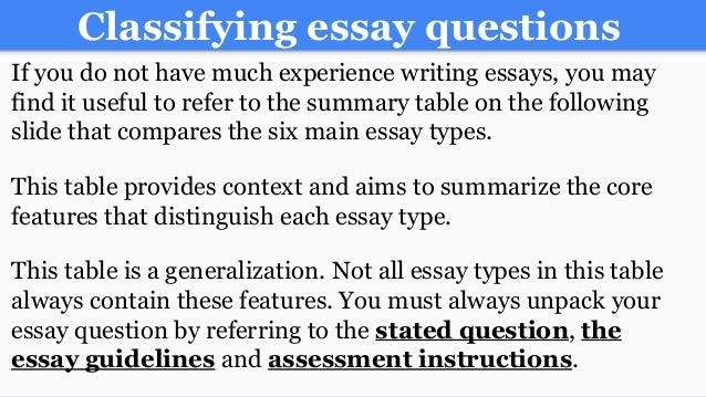 essay on following instructions