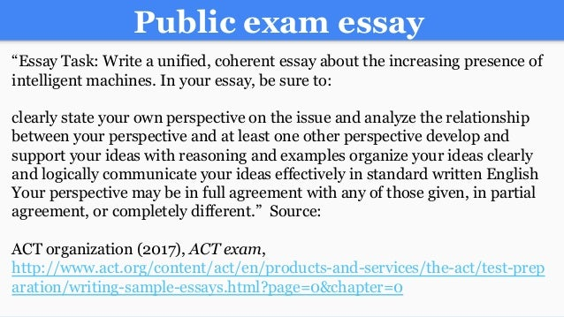 "writing essays under exam conditions "" it's frightening how much of life depends on exams you spend a whole year working away, writing beautiful reports and essays, and most if it counts for close."