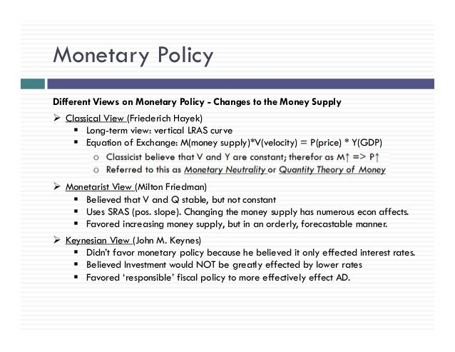 Fiscal Policy - CliffsNotes Study Guides