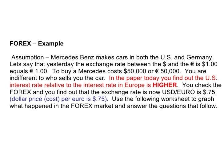 Forex ap macroeconomics