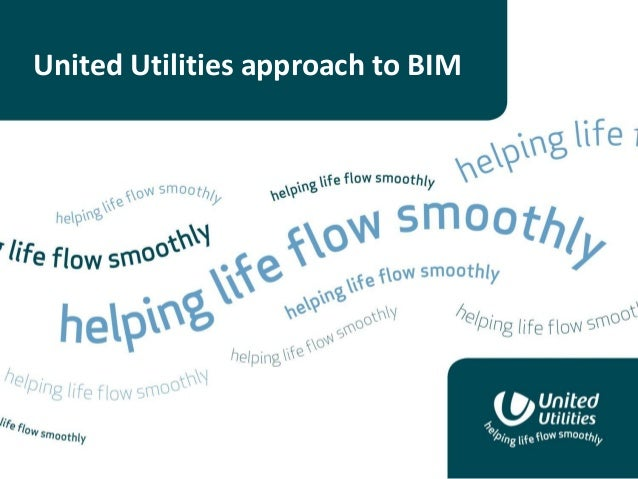 United Utilities approach to BIM