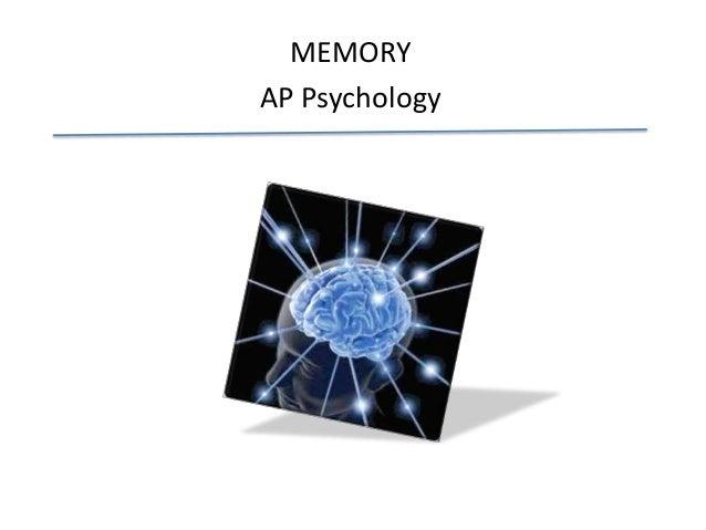 MEMORY AP Psychology