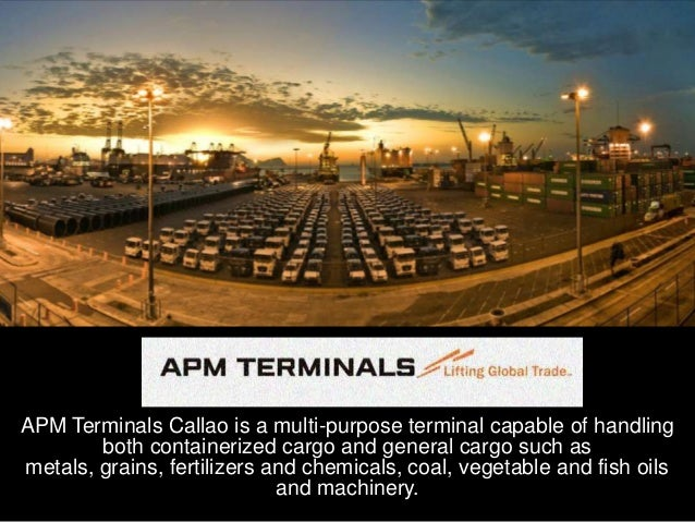 Visit APM Terminal-Callao