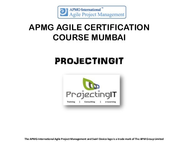 APMG Agile Project Management Certification Course in Mumbai