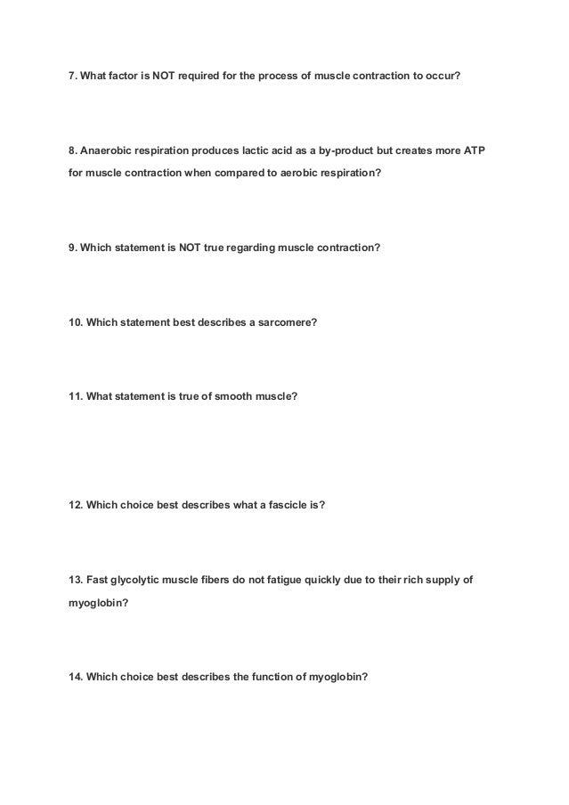 A & P Module 4 Quiz