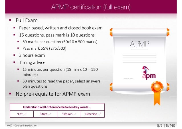 Apmp the apm project management qualification 5 full exam paper yelopaper Image collections