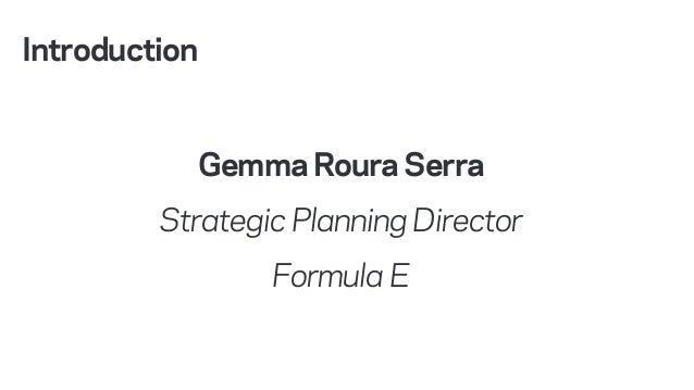 Programme Management – Formula E webinar Slide 2