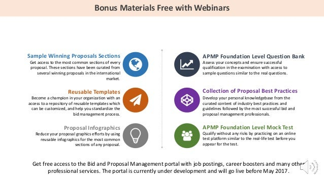 Apmp Foundation Level Certification Webinar Series Season 2