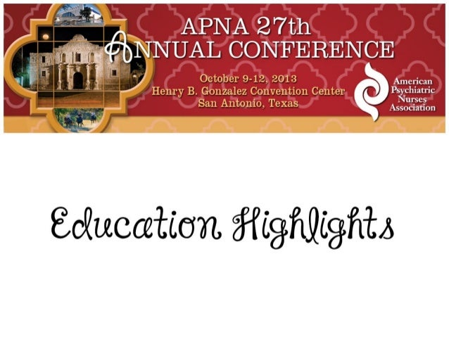 APNA 27th Annual Conference Education Highlights