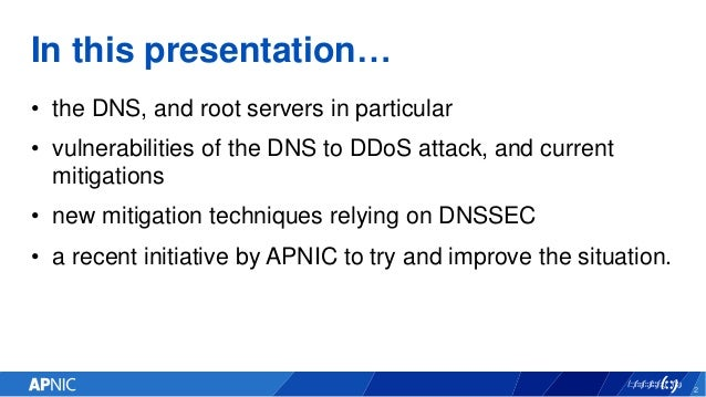 bdNOG 7 - Re-engineering the DNS - one resolver at a time