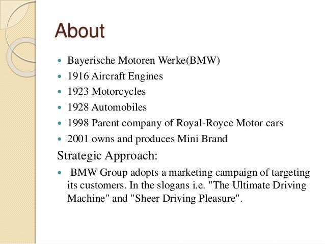 bmw ansoff matrix For understanding the concept of corporate strategy of bmw, igor ansoff  corporate growth strategy matrix has taken into consideration (gangwal, 2014)  ansoff.