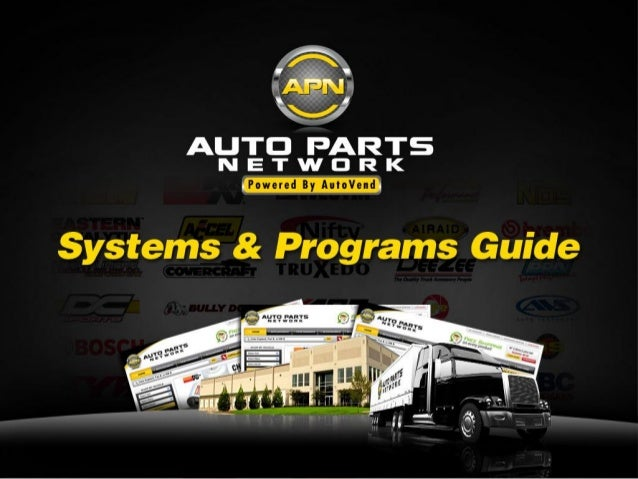 What is AutoPartsNetwork.com?      AutoPartsNetwork.com is the physical portal for the programIt will allow for:     –    ...