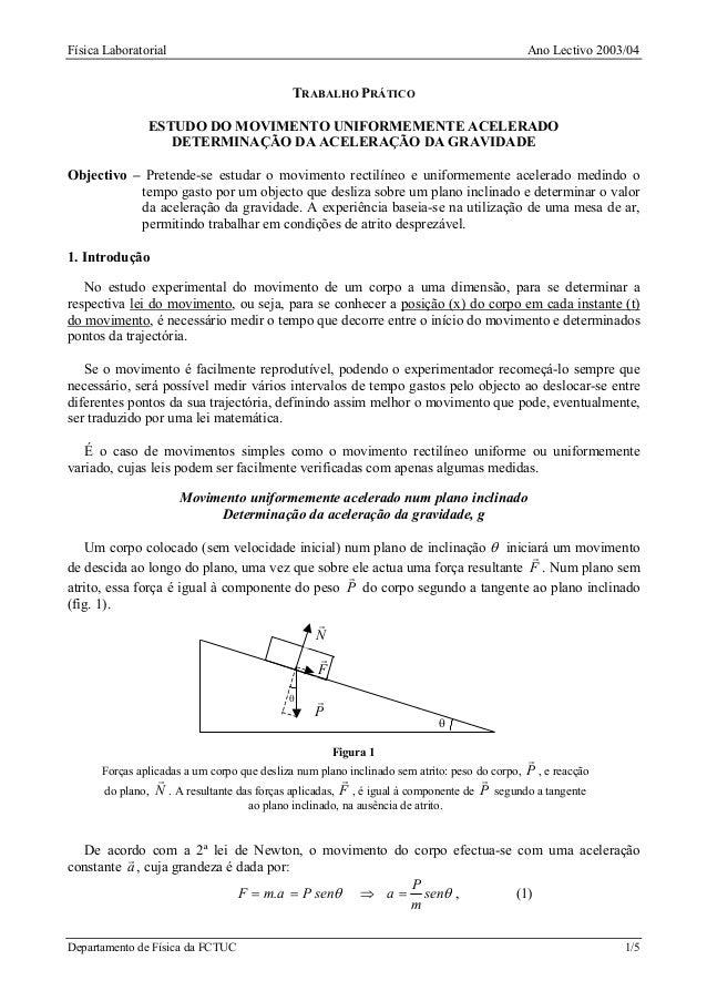 Física Laboratorial                                                                          Ano Lectivo 2003/04          ...